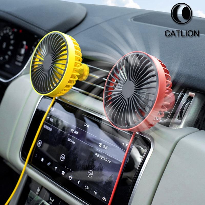 Mini usb car atmosphere light small fan desktop portable small fan can be customized