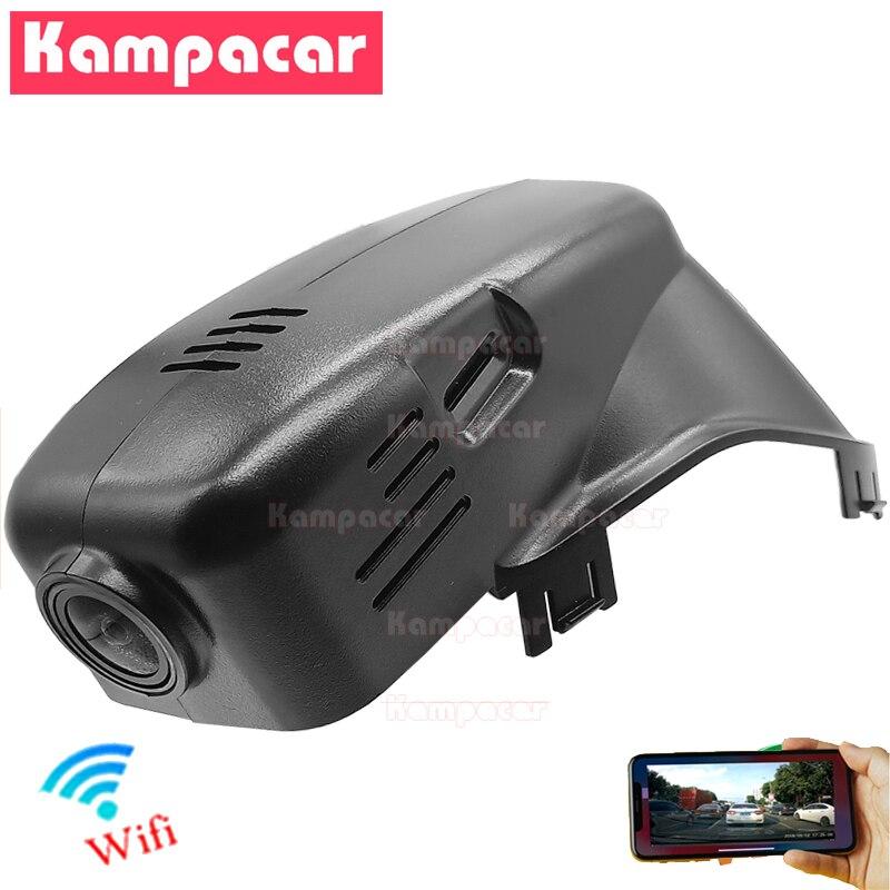 Kampacar VLV01-E Wifi جهاز تسجيل فيديو رقمي للسيارات كاميرا DashCam ل فولفو 102 مللي متر XC70 XC60 S80 S60 V70 V60 D5 D6 R تصميم FHD 1080P مسجل فيديو