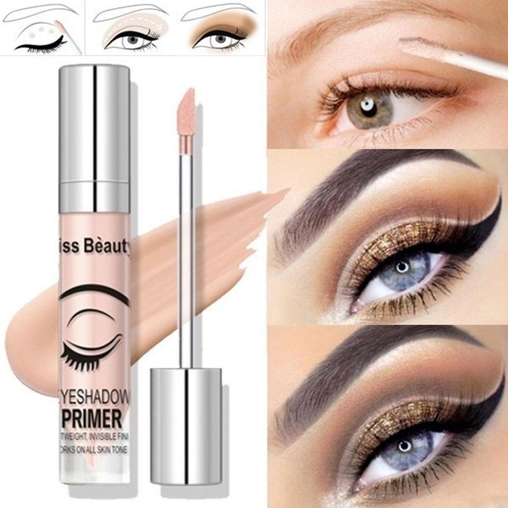 1 unidad de crema de Base de Ojos de alta calidad, líquido de imprimación de párpado de larga duración, Base de sombra de ojos, Base de maquillaje