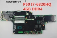 fru01ay384 01ay374 motherboard for lenovo thikpad p50 notebook motherboard i7 6820hq processor test all functions 100