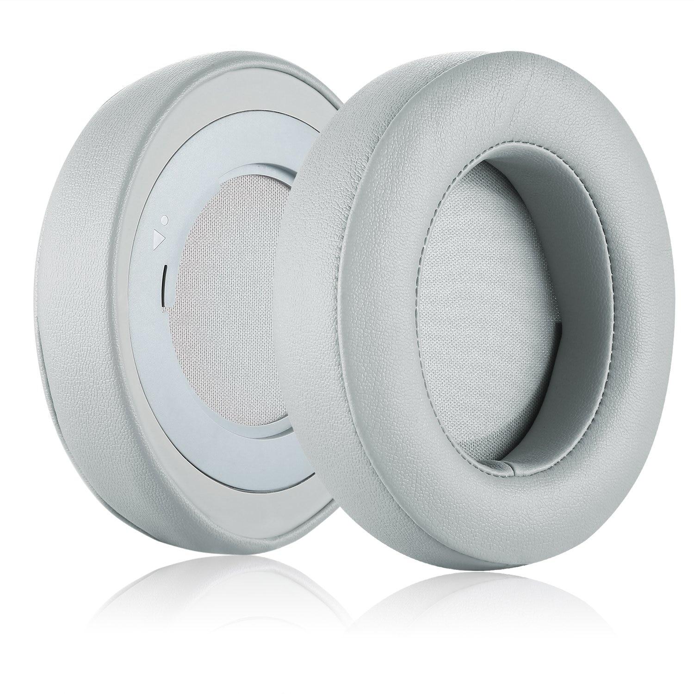 Almohadillas ovaladas de repuesto para los oídos, almohadillas de espuma de memoria para los oídos, Kit de almohadillas para Razer Kraken Pro V2, auriculares ovalados solo ovalados