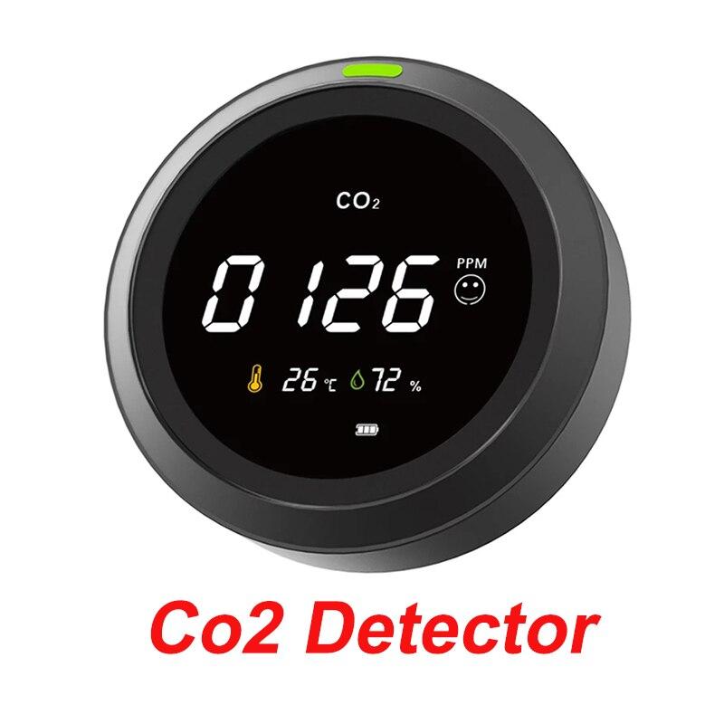 ثاني أكسيد الكربون كاشف الغاز محلل CO2 متر نوعية الهواء رصد CO2 الاستشعار كاشف الغاز درجة الحرارة و مقياس الرطوبة