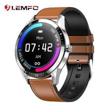 LEMFO G20 ساعة ذكية تعمل باللمس الكامل الرجال نمط الأعمال دعم بلوتوث دعوة مراقب معدل ضربات القلب Smartwatch للهاتف أندرويد IOS
