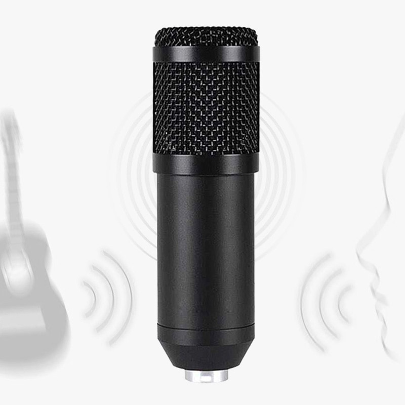 Condenser Gaming Microphone Professional Recording Microphone for PC Microphone Karaoke Sound Card Microphone for Youtube Live enlarge