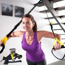 Süspansiyon fonksiyonu eğitim direnci cihazı halat ağır Fitness eğitimi ev Fitness ekipmanları gergi egzersiz bantları