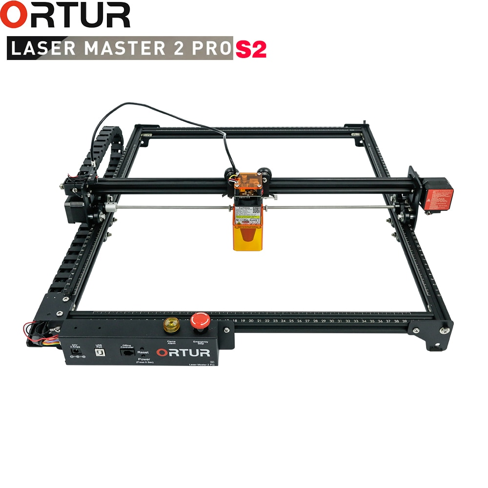 NEW Ortur 20W Eye Protection Laser Engraver 400X400 Carving Area Full-metal Structure  Quick Qssembly Design Laser Machine
