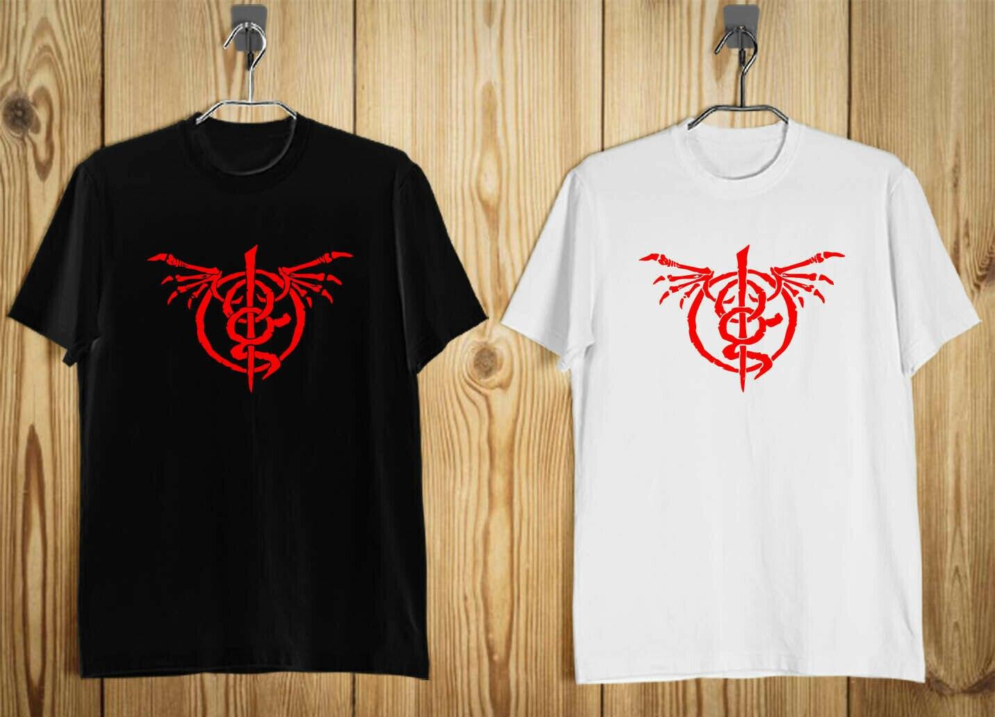 New Lamb of God Wrath Album American Metal Band Men's T-Shirt Black White S-3XL
