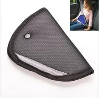 2016 high quality safe fit thickening car safety belt adjust device baby child safety belt protector seat belt positioner