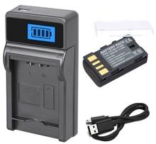 Chargeur USB batterie + LCD pour JVC GR-D750U, D750US, GR-D760U, GR-D770U, GR-D790U, GR-D796U, GR-D850U Mini caméscope numérique DV