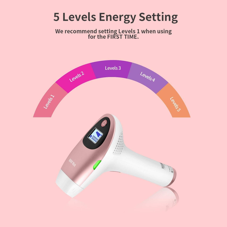 Mlay IPL Hair Permanent Remove Laser Device  Arm Leg Bikini Armpit Face 1,500,000 Flashe 5-in-1 Trimmer Fast  Ship Triple Plug enlarge