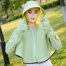 Sombrero de verano de fibra de protección UV, sombrero de sol, sombrero de playa, camisa de protección solar para mujer, sombrero de verano coreano para mujer, sombreros para protección solar