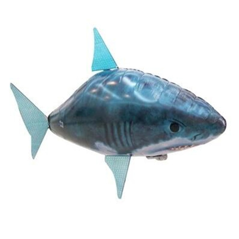 Party Decoration Remote Control Shark Toys Air Swimming Fish RC Animal Infrared RC Fly Air Balloons Clown Fish Toy Gifts enlarge