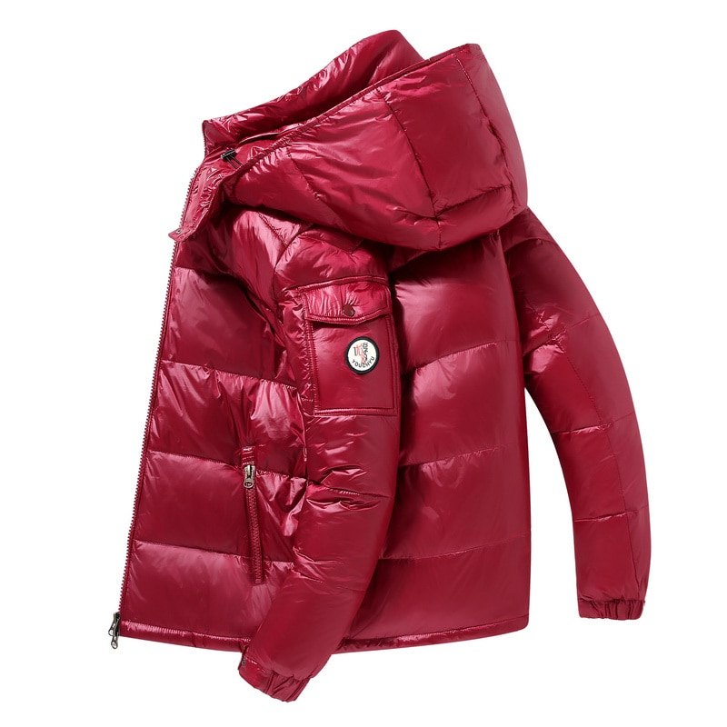New Men's Hooded Casual Down Jacket Thick And Warm 2021 Autumn And Winter Men's Winter Clothing Down Jackets Coats