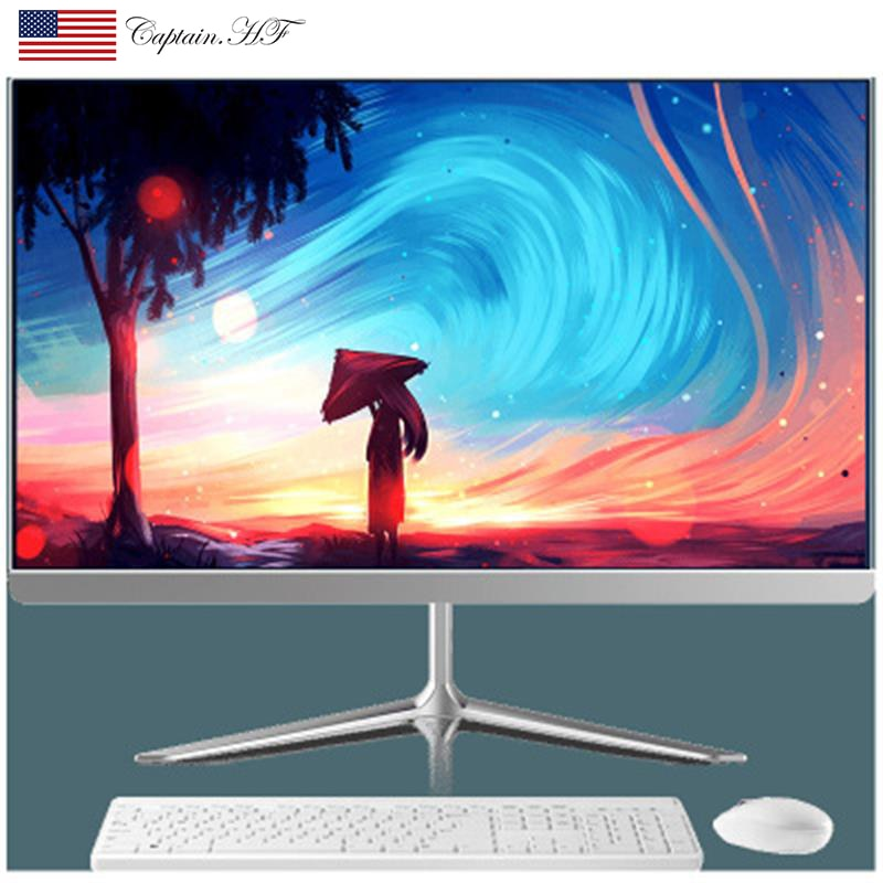 US Captain New All-in-One PC Desktop 21.5-inch Computer  Core i5 9400F  for Office and Home enlarge