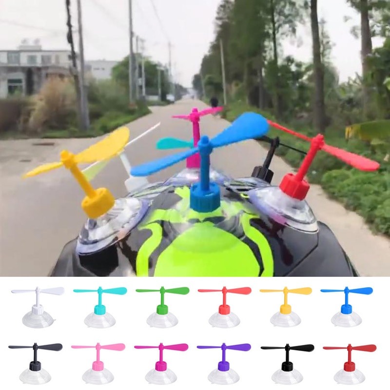Bamboo Dragonfly Motorcycle Helmet Decoration Multiple Colour Motor Electric Vehicle Driving Styling Funny Accessories