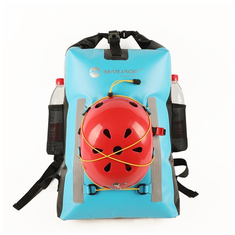 Waterproof Dry Bag Roll Top Backpack 30L Motocycle Dry Sack Rafting Bag Water Resistant Bag Bolsa Impermable Moutain Ocean Bag
