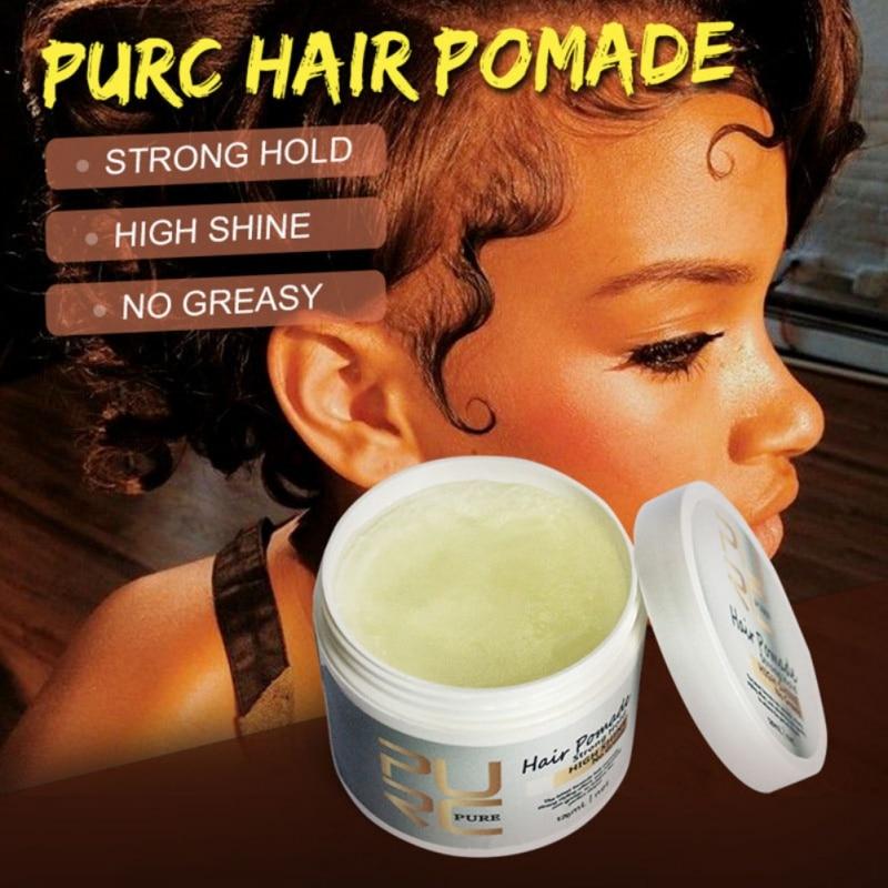 Mascarilla de pelo profesional estilo Retro Aceite de Pelo de larga duración herramienta de peinado conveniente cuidado del cabello fácil de usar