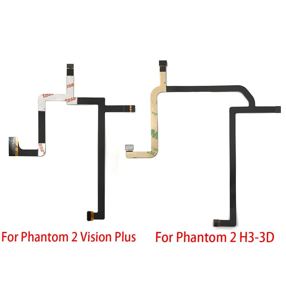 10 unids/lote, Cable de cardán Flexible cinta plana cardán cámara para DJI...