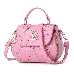 2019 New Hot Ladies Handbags Brand Women Messenger Bags Flap V women Luxury Leather Clutch Bag Tote Bag Bolsos Mujer Sac a Main