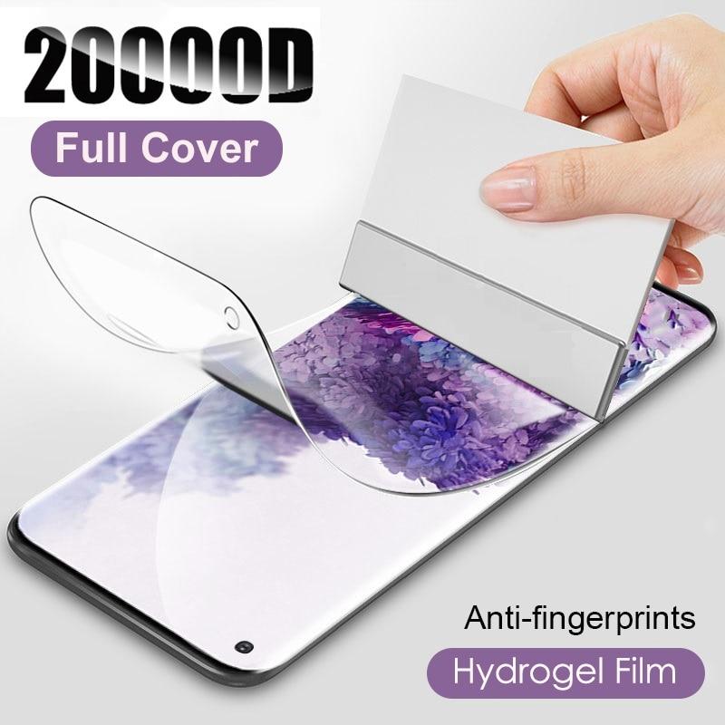 Hydrogel Film For Samsung Galaxy A51 A50 A12 A11 A40 A70 A20e A30s A10 A71 A31 A21s M51 M21 M31s Screen Protector Glass
