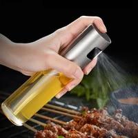 kitchen oil spray bottle olive oil vinegar squeeze bottle gravy boats bbq sprayer grilling baking cooking condiment dispenser