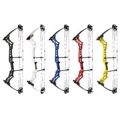 30-55 libras adjustabl arco composto leve para o usuário da mão direita tiro com arco de caça