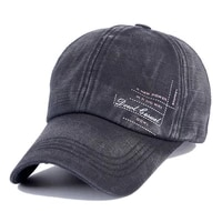 washed distressed twill cotton baseball cap adjustable dad hat outdoor sun hat sports cap for golf cycling running fishing