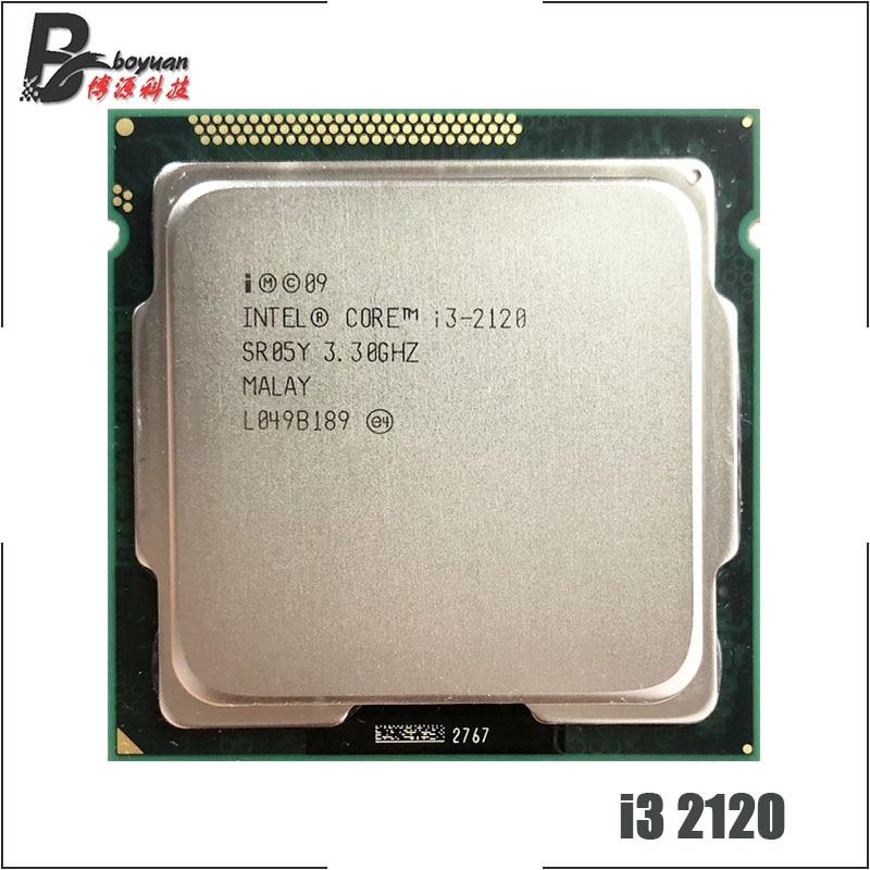 Intel Core i3-2120 i3 2120 Dual Core 3,3 GHz CPU procesador 3M 65W LGA 1155 satmak i3 2100