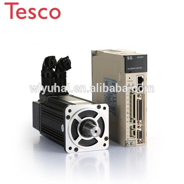 ethercat yaskawa similar servo pack 220v ac 750w 1kw servo motor