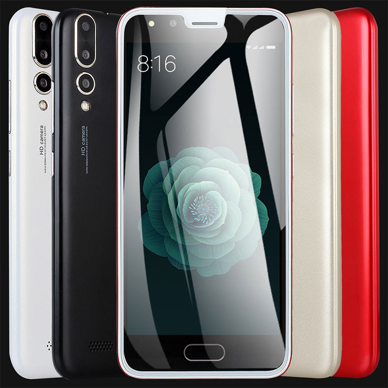 P20 5.0 بوصة 3G الهاتف الذكي مع 512 + 4GB الجبهة و الخلفية 2 ميغا بكسل الوجه الاعتراف لالروبوت 4.4 على الوجهين رقيقة جدا