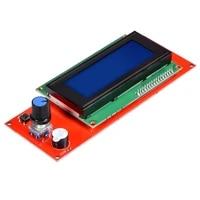 1pcs 2004 lcd display 3d printer reprap smart adapter controller reprap ramps 1 4 1 6 mega2560 board 2004lcd control