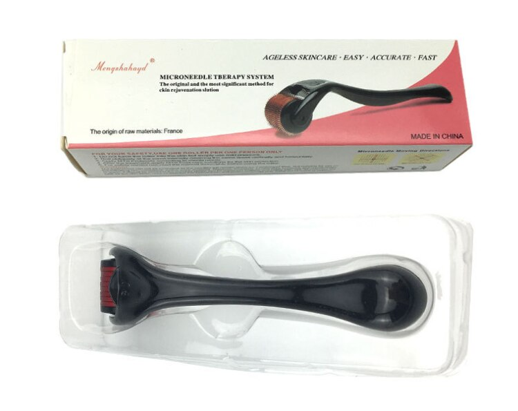 DRS 540 derma roller micro needles titanium microneedle mezoroller machine for skin care and body treatment
