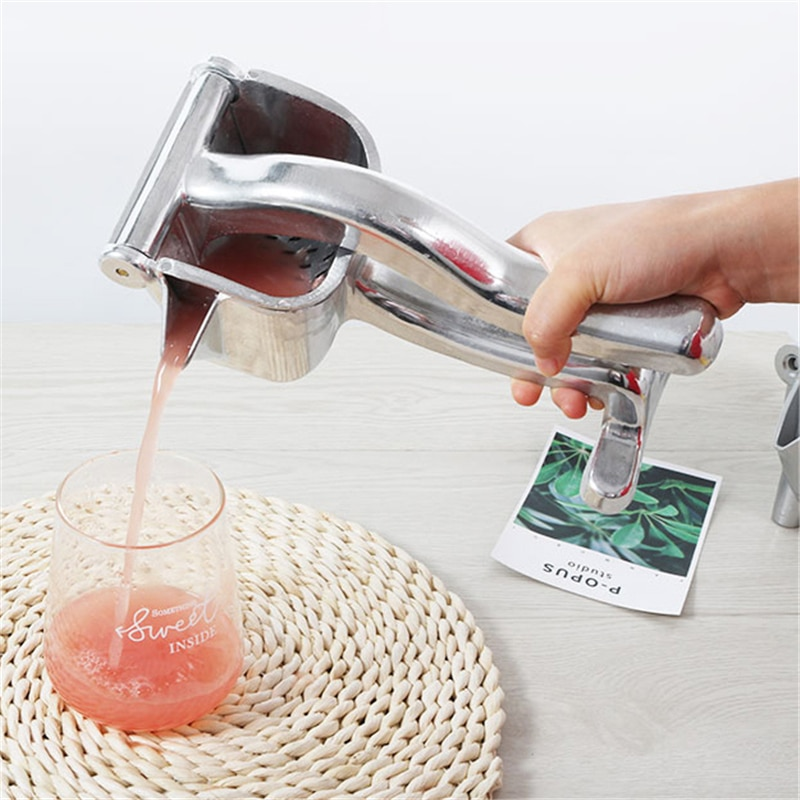 Manual Fruit Juicer Multifunctional Handheld Lemon Orange Juicer Press Portable Machine Squeezes Juicer Durable Fruit Juicer 45w 700ml household portable juicer electric orange lemon fruit squeezer extractor electric juicer extractor fruit press machine