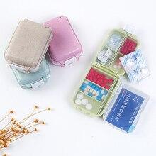Pille Box Mini 7 Grids Medizin Tablet Woche Pillbox Fall Container Organizer Gesundheit Pflege Medikament Reise Teiler Tragbare Werkzeug