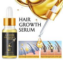 LAVDIK имбирь Сыворотка для быстрого роста волос эфирное масло против потери волос жидкость для восстановления поврежденных волос Прямая поставка TSLM1