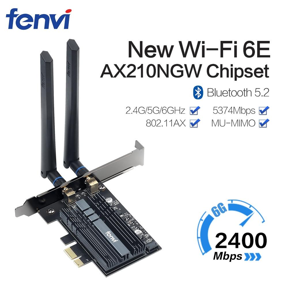 ثنائي النطاق 3000Mbps WiFi6 إنتل AX200 PCIe اللاسلكية واي فاي محول 2.4G/5Ghz 802.11ac/AX بلوتوث AX210NGW 6G واي فاي 6E بطاقة للكمبيوتر