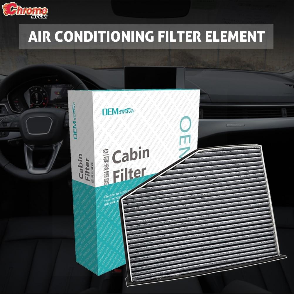 Car Activated Carbon Pollen Cabin A/C Air Filter For Audi A3 Q3 TT Quattro Volkswagen Golf Passat Tiguan CC 1K0819644 1K1819653B