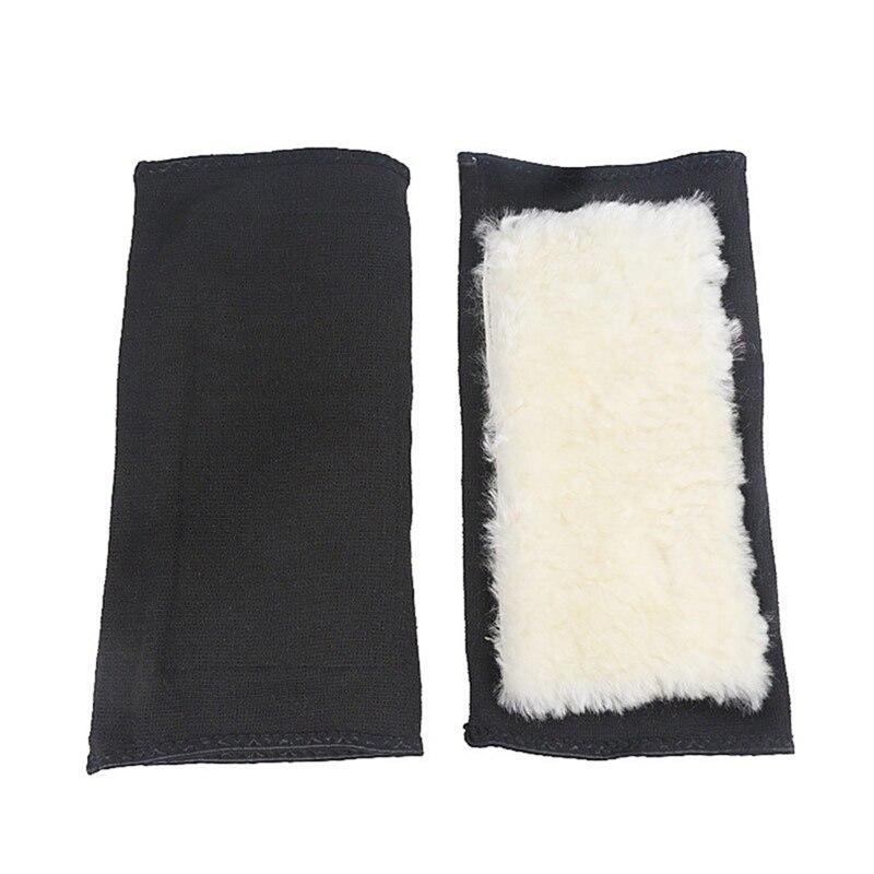1 par de rodilleras térmicas de invierno gruesas de Cachemira para compresión de rodilla de lana cálida, rodilleras, mangas cálidas, rodillera, soporte para esquí, ciclismo, Danza