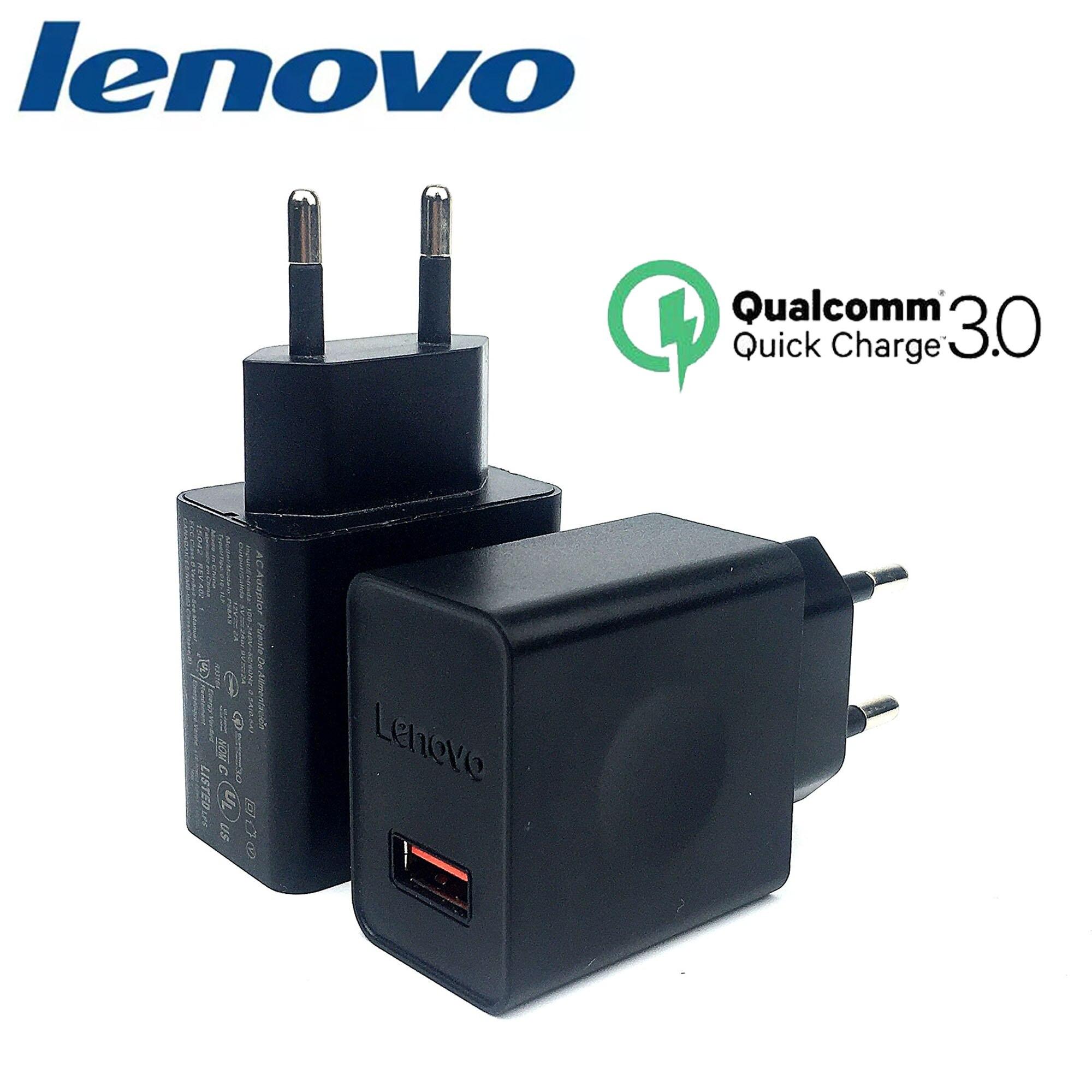 Lenovo 12V/2A cargador rápido QC 3,0 Original de carga rápida USB AC adaptador de enchufe para K5 jugar S5 Pro K6 a536 k3 nota p2 vibe p1 p780