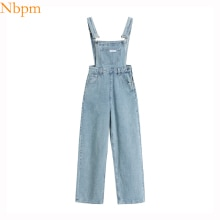 Summer Jeans 2021 Fashion Denim Jumpsuits Women Playsuits Chic Vintage Overalls Trendy Casual Romper