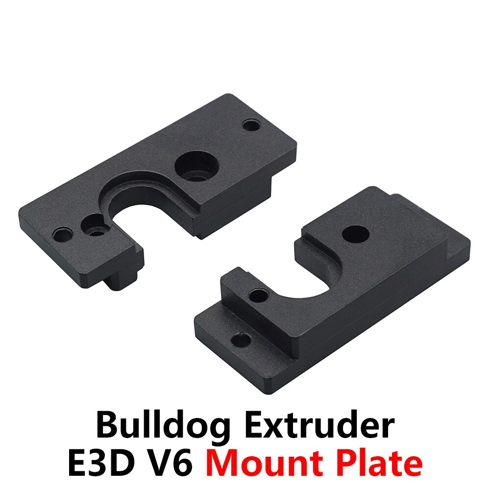 Piezas de extrusora Bulldog E3D V6 Hotend, placa de montaje de aluminio, accesorios de impresora 3D, abrazadera fija de Cabeza J 1