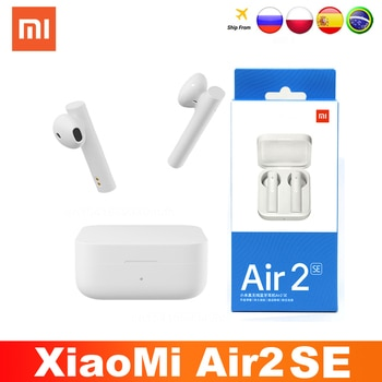 2021 Xiaomi Air2 SE TWS Original Wireless Bluetooth 5.0 Earphone AirDots 2SE Mi True Redmi Airdots Earbuds Air 2 SE Eeaphones