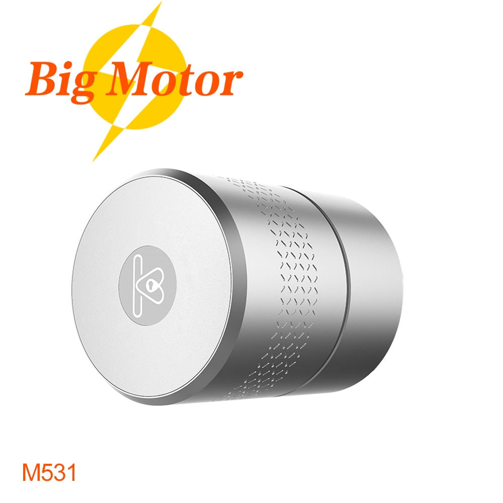 Review M531 NUKI Style Intelligent Tuya Smart lock Zigbee Bluetooth  Door Lock For Euro Profile /Swiss Round/ UK Oval /Knob Cylinder