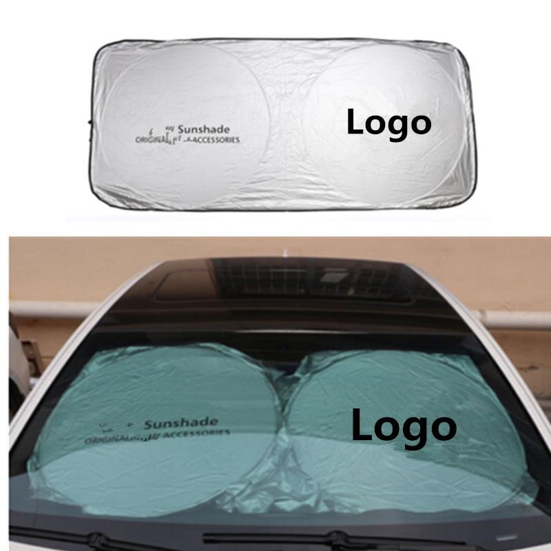 150*70cm Car Accessories Car Front Sunshades Stickers For Mercedes Benz AMG W202 W220 W124 W211 W222 X204 W164 W204 W203 W210