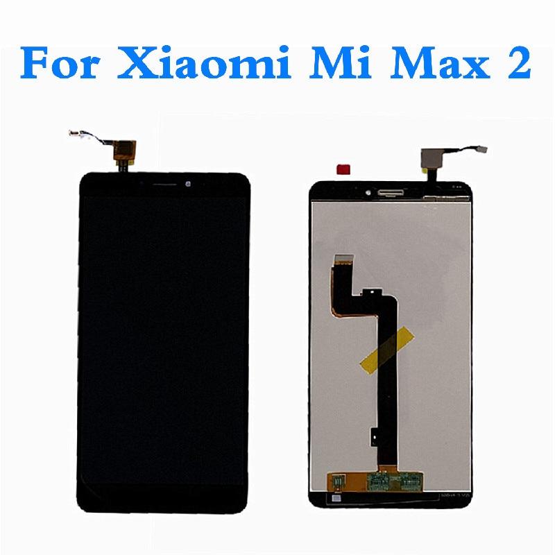 LCD para Xiaomi Mi Max 2 pantalla LCD MONTAJE DE digitalizador con pantalla táctil para Mi Max2 pantalla táctil para Xiaomi MAX 2 pantalla