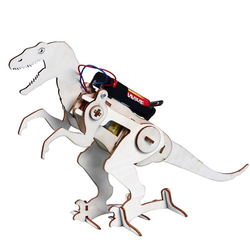 Kuulee dinosaurios de madera tecnología para manualidades eléctrica equipo pequeño