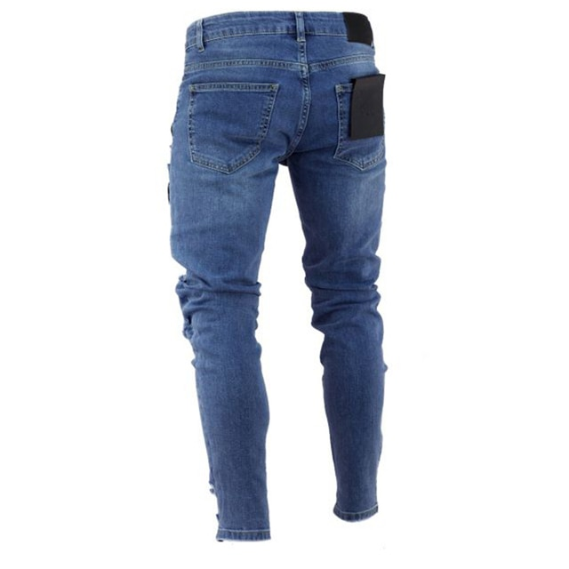 NEW Embroidered Fashion Street Jeans 2