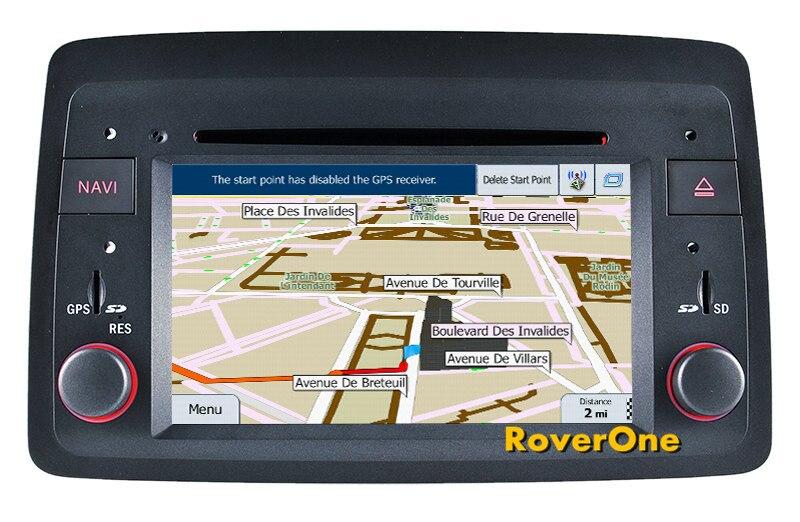 Para Fiat Panda 2004-2012, reproductor Multimedia para coche con Android 7,1, Radio Estéreo, DVD, navegación GPS, Sat Navi Media MirrorLink