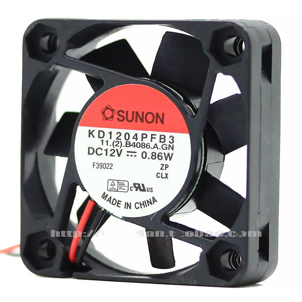 For Sunon KD1204PFB3 4cm 4010 40*40*10 mm DC 12V 0.86W Dual ball bearing cooling fan