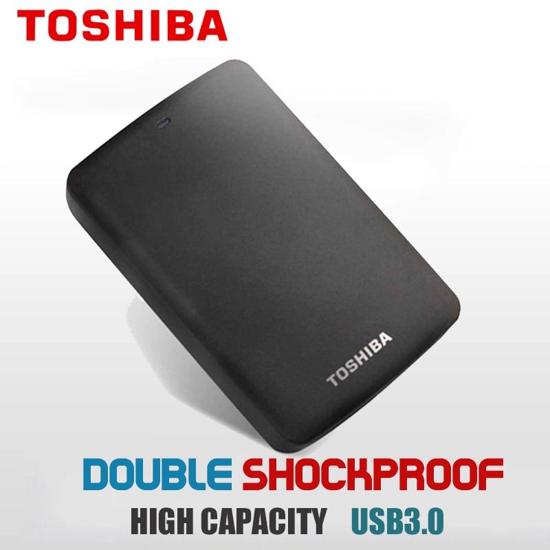 Original Toshiba Canvio Basics USB-C Portable Storage  1TB  External Hard Drive  HDD USB3.0  2.5 Harddisk Free Shipping